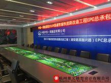 中鐵一局集團紹興329國道智慧快速路工程沙盤模型