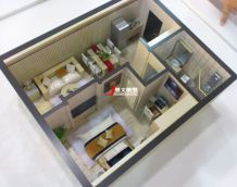 精品單身公寓戶型模型